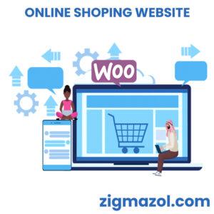 woocomerce web site